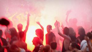 """Imagen extraída del último vídeo de la banda Narco """"Ven a torreblanca"""" producido por labalacera.com"""