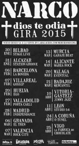 Narco gira 2015