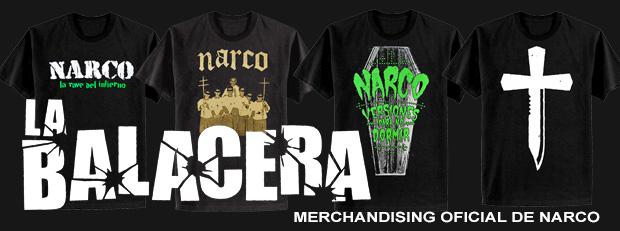 La Balacera merchandising Narco